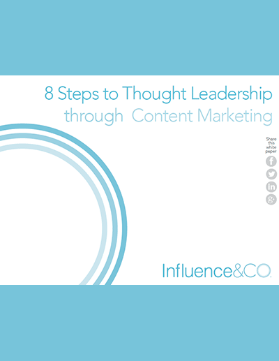 8 Steps to Thought Leadership through Content Marketing