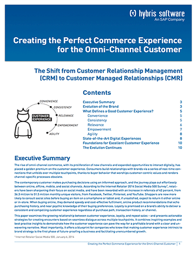 Creating the Perfect Commerce Experience for the Omni-Channel Customer